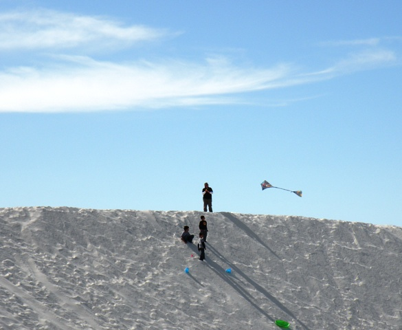 Kite Flyers at White Sands