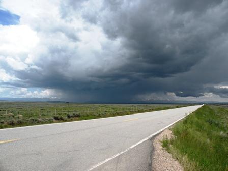 Storm in North Park Colorado