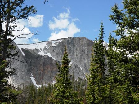 High Peaks of the Snowy Range in Wyoming