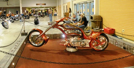 Custom Motorcycle at Thunder In the Rockies