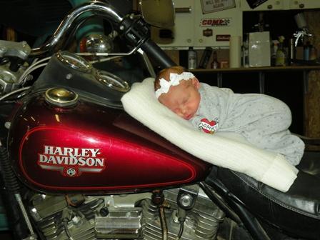 Sweet Biker Babe