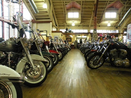 Thunder Mountain Harley Davidson Showroom