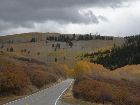 Road into the Colorado Mountains