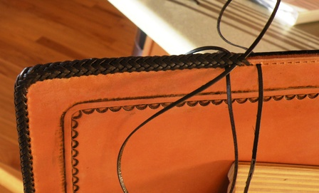 Splicing Leather Braidwork