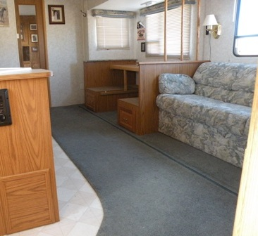 RV Remodeling Demolition is the first step in an RV Remodel