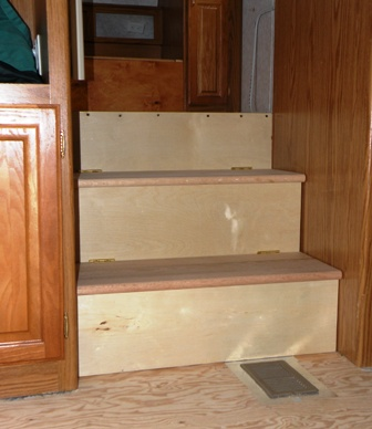RV Storage Stairs