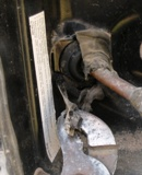 Removing the sealing grommet on an RV Gas Line