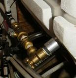 RV water heater fittings