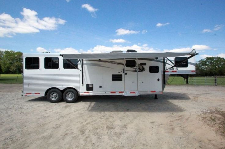 The 2016 Lakota Charger LQ 11' Shortwall trailer I live in ...