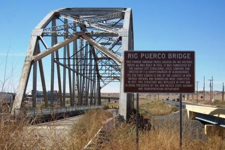RT 66 Rio Puerco Bridge