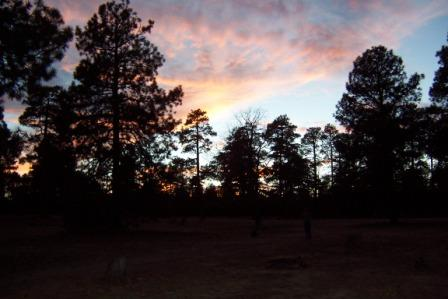 Heber Arizona Sunset