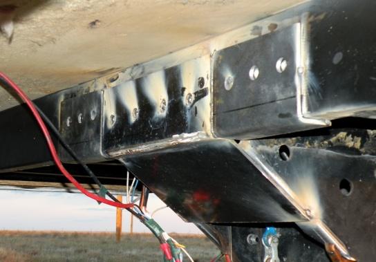 Fifth Wheel Trailer Pinbox Repair