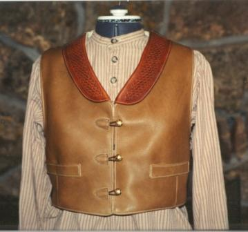 Custom Leather Vest