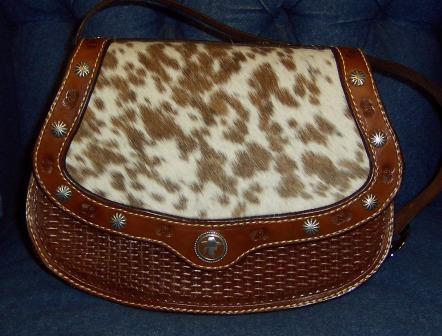Custome Hair-on Western Purse