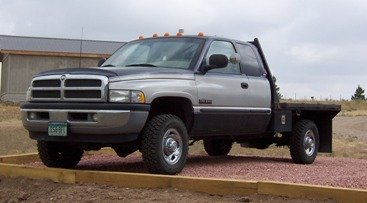 1998 Flatbed Dodge Cummins