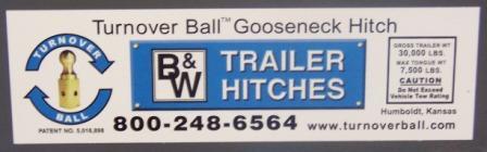 B W Turnover Ball
