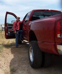 running boards make stepping in easy