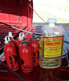 MSR Fuel bottles