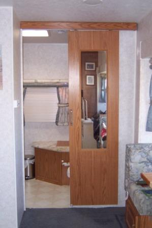 RV Sliding door