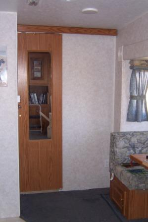 Improving An Rv Bathroom Door