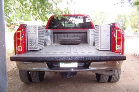 Truck Tool Boxes installed