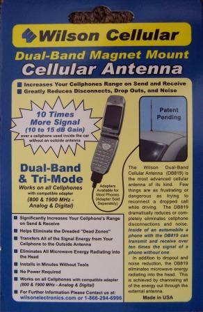 Magnetic antennae