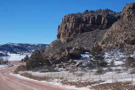 western ranch border