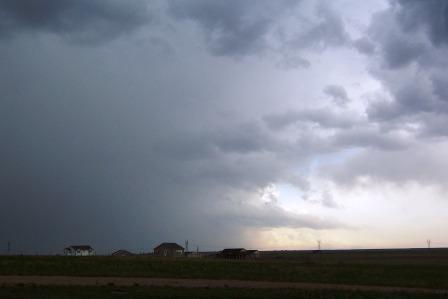 Tornado Storm Bearing Down