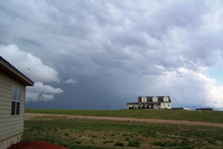 Tornado Storm sliding on by