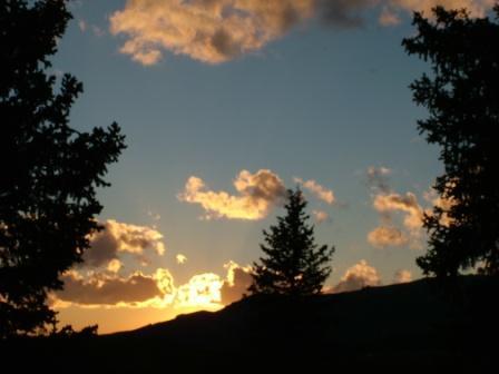 Sunset On Bald Mountain