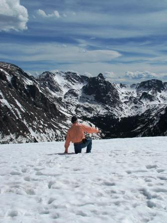 Rocky Mountain National Park can get athletic