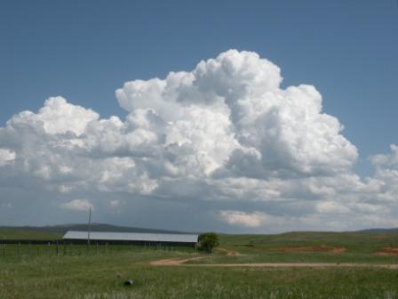 A Wyoming Thunderhead building