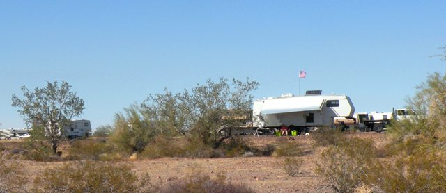 Quartzsite and Our Plamosa Road BLM Camp