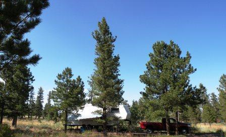 Canyon Rim Campground in Flaming Gorge