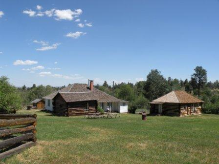 Swett Ranch near Flaming Gorge