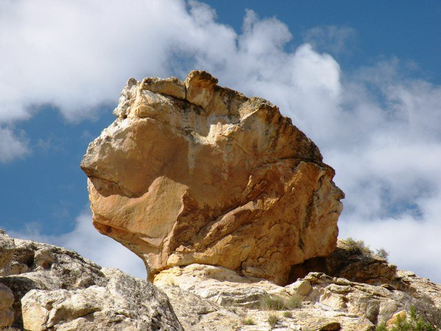 Two Faced Rock in Dinosaur National Monument