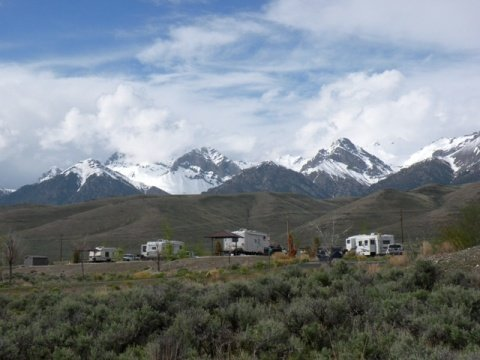 Joe T. Fallini Campground, Mackay Rervoir, Mackay, Idaho