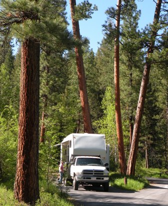 Indian Trees Campground, Bitterroot National Forest