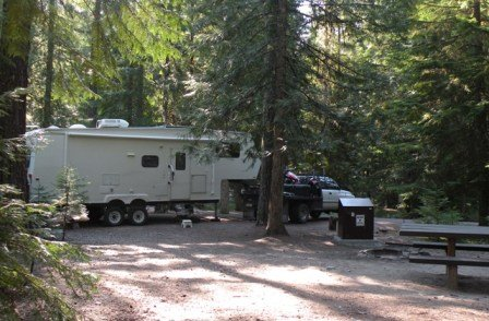 Bad Medicine Campground Kootenai National Forest