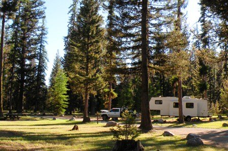 Loup Loup Campground Okanogan-Wenatchee National Forest