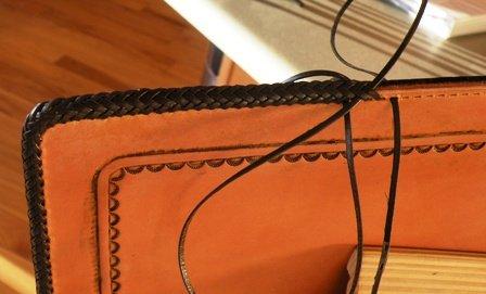 Splicing Leather Braidwork