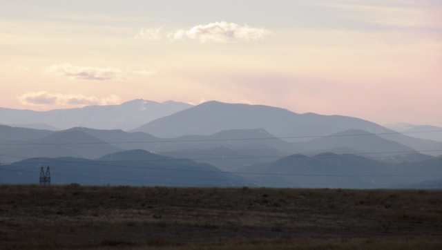afternoon view of the Colorado Front Range