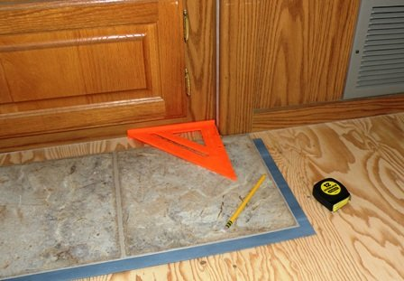 An Rv Flooring Replacement Using Allure By Traffic Master