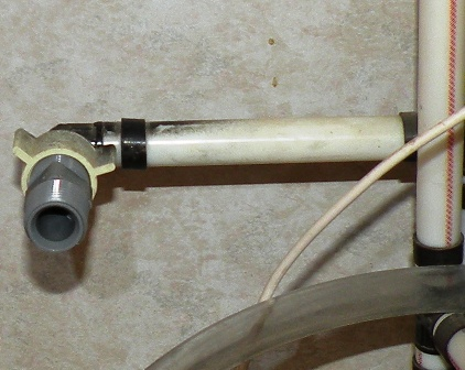 nipple for splicing an RV water line