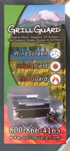 grill guard logo card