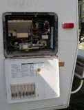 Broken Atwood water heater