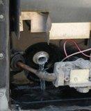 RV water heater drain
