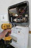 RV water heater case screws