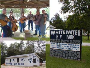 White Water RV Park, Our Favorite Park in Arkansas