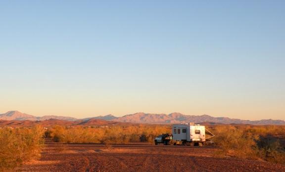 Bouse Arizona RV Boondocking Camp